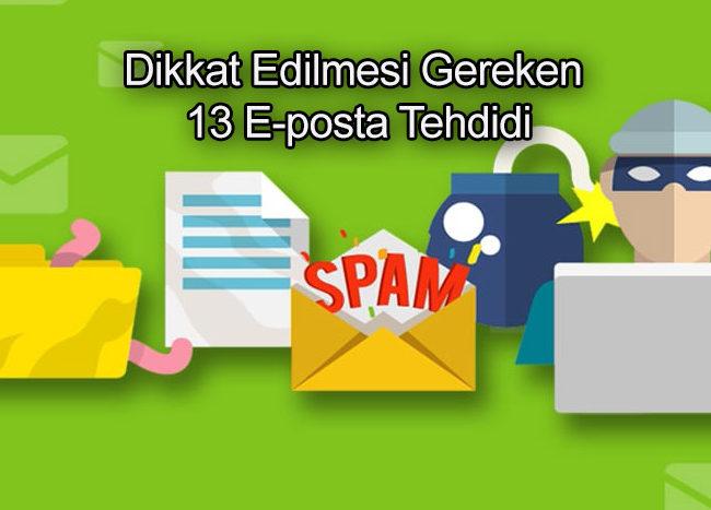 E-posta Tehditleri